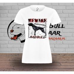 T-shirt Damski - Beware