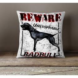 Poduszka - Beware