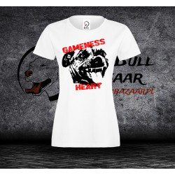 Koszulka Pit bull Gameness - Damska
