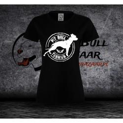Koszulka Pit bull terrier - Damska