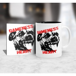 Kubek Pit bull Gameness + podkładka
