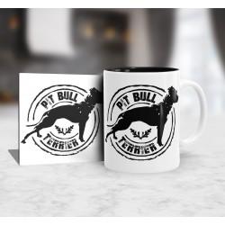 Kubek Pit bull terrier + podkładka
