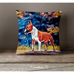 Poduszka - Bullterrier red