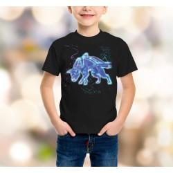Koszulka - Pit Bull Weight Pulling light - dziecięca