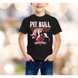 Koszulka - Pit Bull Weight Pulling - dziecięca