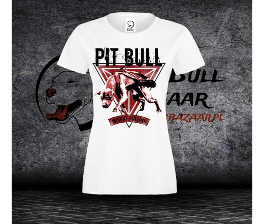 Koszulka Pitbull Weight Pulling - Damska