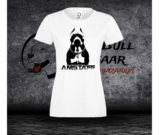 Koszulka Amstaff Black - Damska