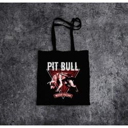 Torba bawełniana czarna - Pit Bull Pulling