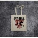Torba bawełniana ecru - Pit Bull Pulling