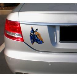 Naklejka na samochód - Bullterrier