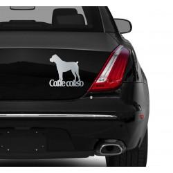 Naklejka na samochód - Cane Corso