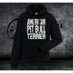 Bluza Pit Bull Terrier - Męska z kapturem