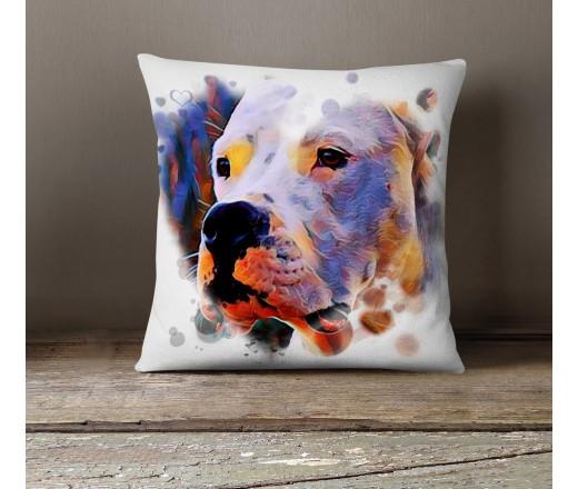 Poduszka - Dogo Argentino