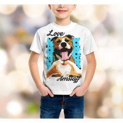 Koszulka Amstaff - love - Dziecięca