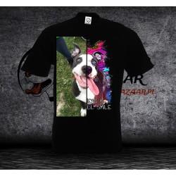 Koszulka z Twoim psem - Męska