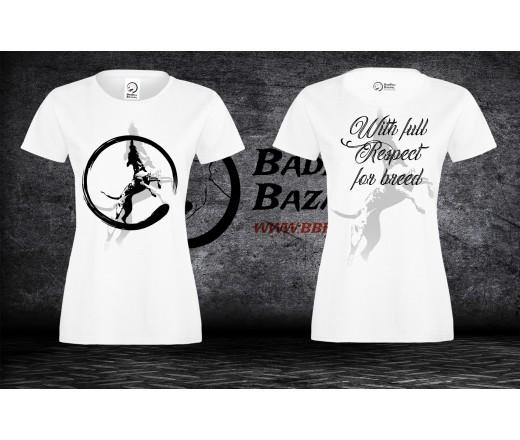 Koszulka Pitbull Respect - Damska